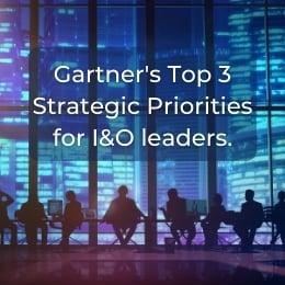 Top 3 strategic priorities for I&O leaders